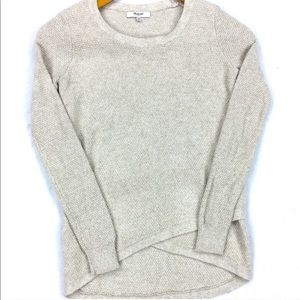 Madewell // Feature Pullover Textured Sweater